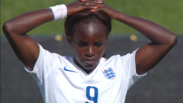 Women's World Cup 2015: Eniola Aluko hits bar with long- range strike
