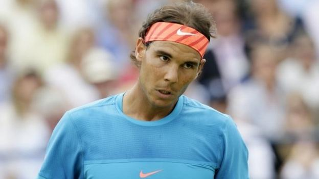 Queen's: Rafael Nadal knocked out by Alexandr Dolgopolov - BBC ...