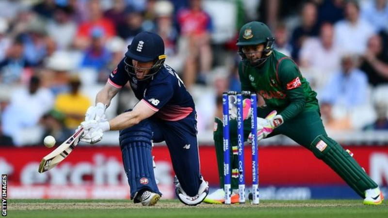 Wood strikes key blow as England reach Champions Trophy semi-finals