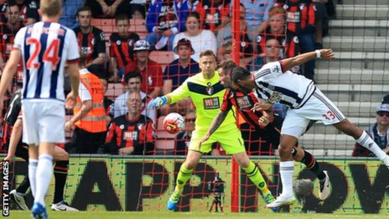 Video: AFC Bournemouth vs West Bromwich Albion