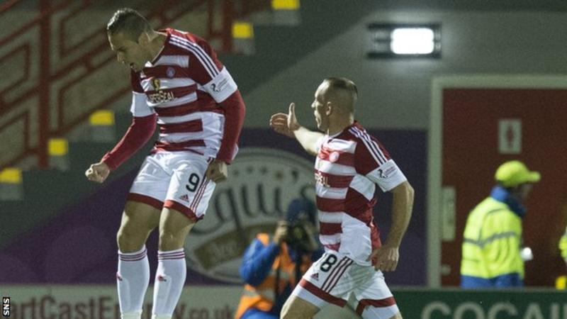 Alex D'Acol celebra el gol. FOTO: SNS Group