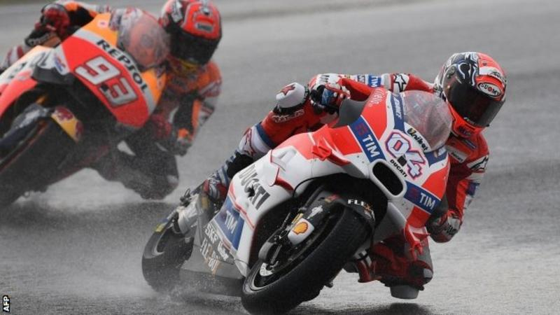 Wet Malaysia GP