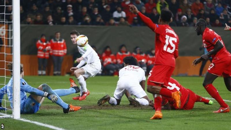 Video: Augsburg vs Liverpool