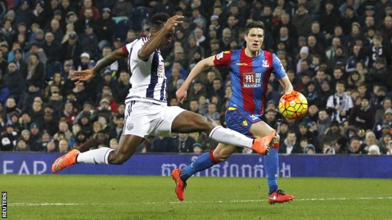 Video: West Bromwich Albion vs Crystal Palace