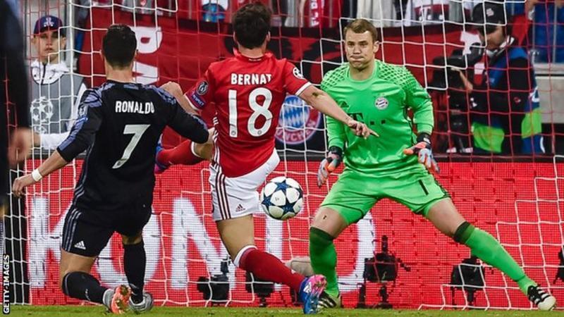 歐聯精華 - 拜仁慕尼黑 1-2 皇家馬德里 | 查維馬天尼斯兩黃一紅 十人拜仁被皇馬連入兩球反勝