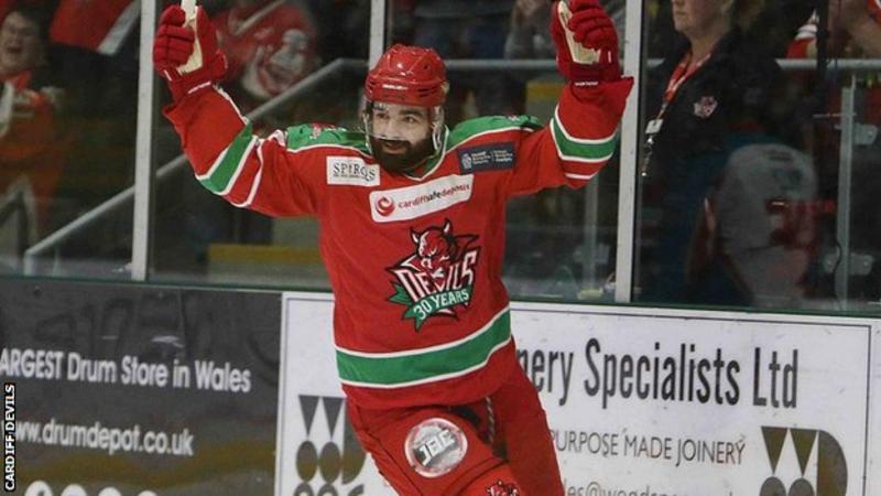UK: Cardiff Devils Re-sign Forward Sean Bentivoglio For 2017-18