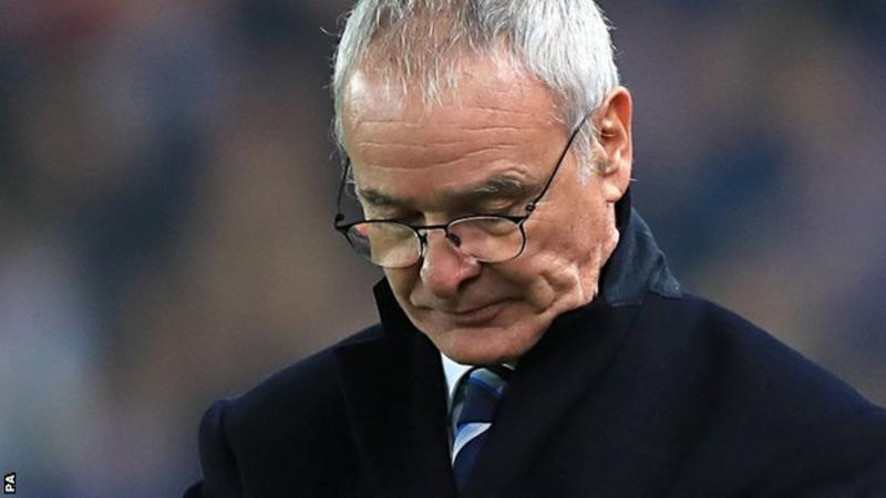 BREAKING NEWS: Claudio Ranieri has been sacked by Leicester just 9 months after winning the Premier league title