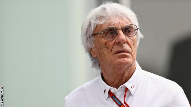Breaking! Bernie Ecclestone steps down as Formula One boss