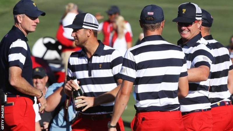 Is the Presidents Cup over? History says US Team has already won