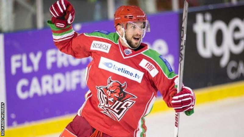 UK: Joey Martin - Star Forward Agrees New Cardiff Devils Deal