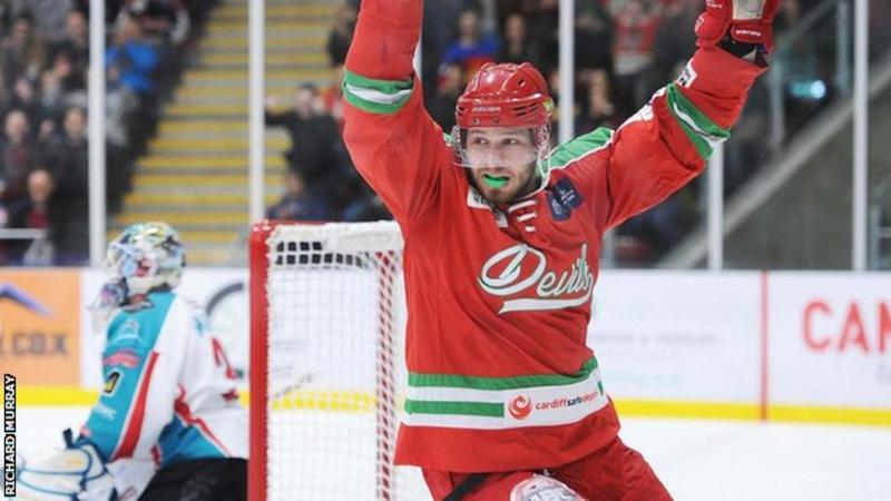 UK: Gleason Fournier - Defenceman Commits To Cardiff Devils For New Season
