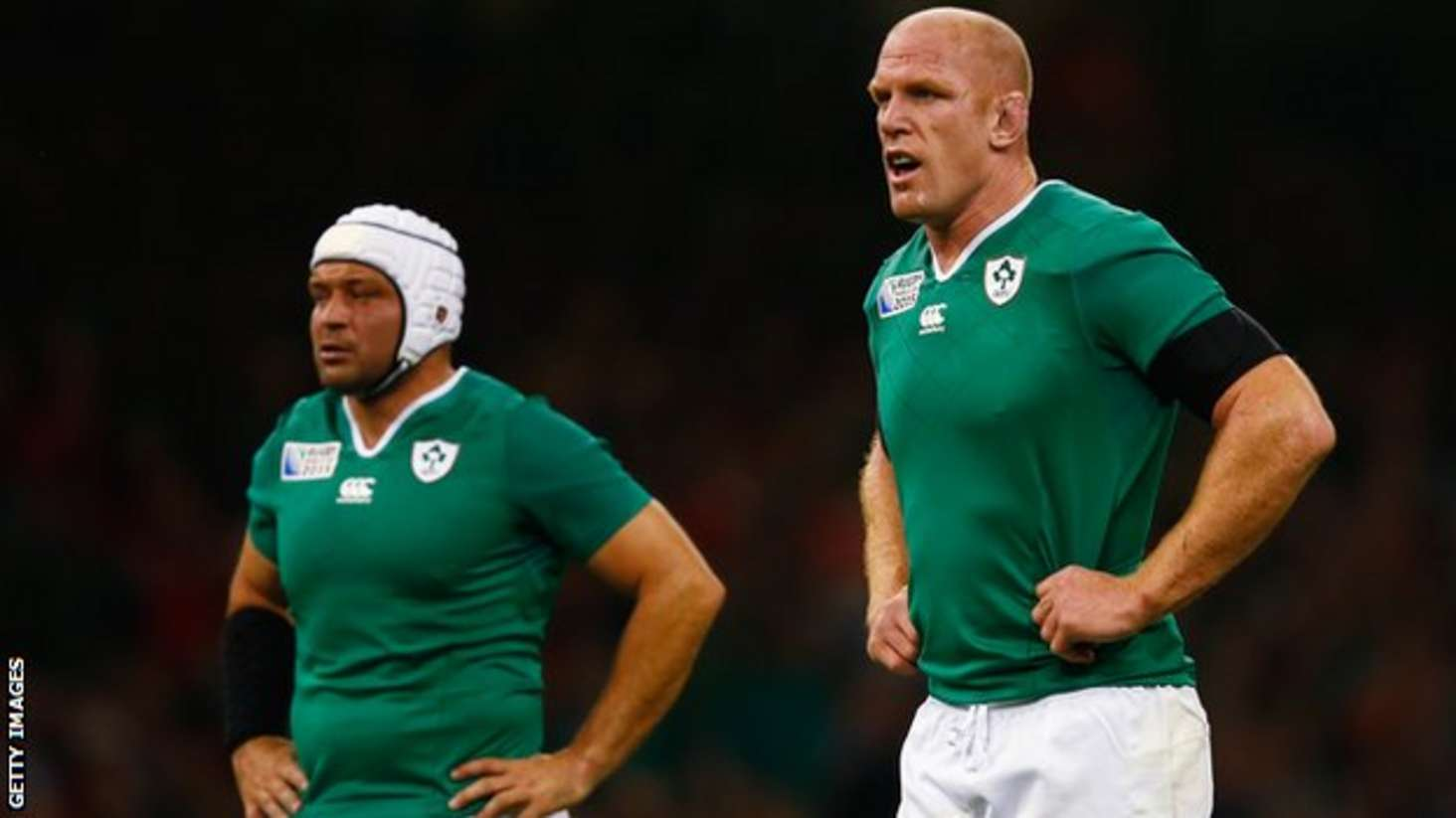 Rory Best and Paul O'Connell