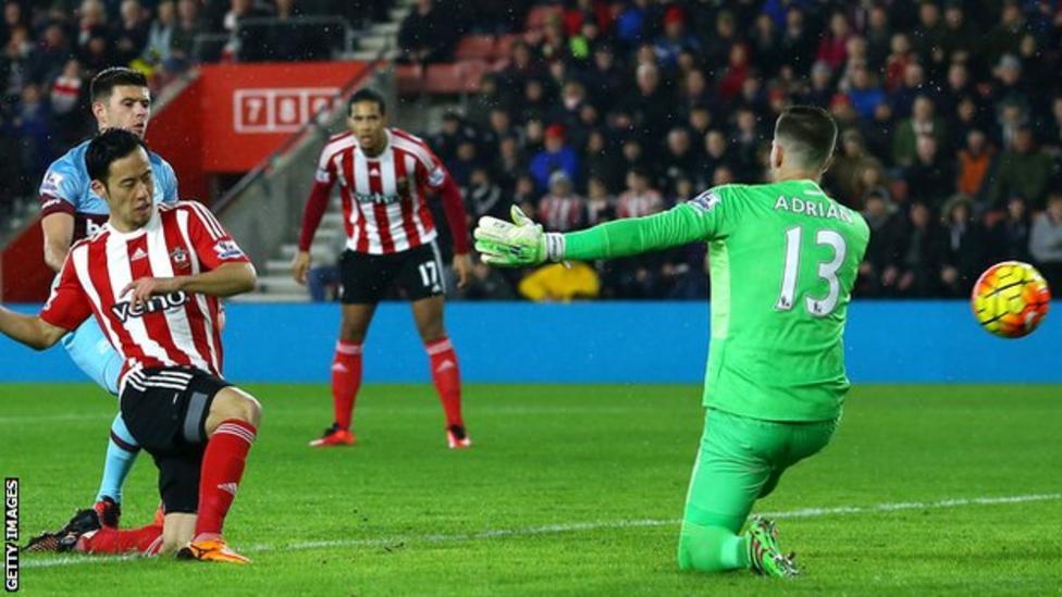 ไฮไลท์  Southampton 1 - 0 West Ham United