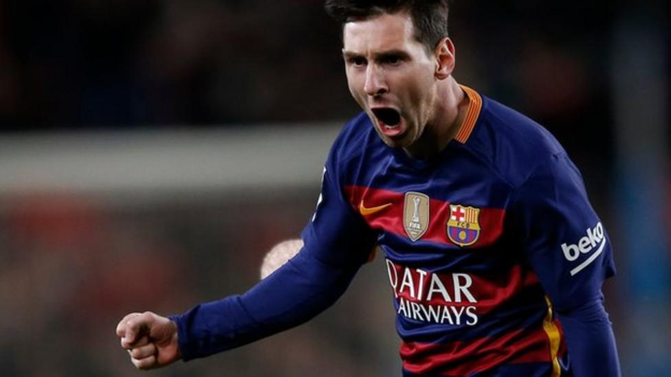 Messi Menangkan Player Of The Month