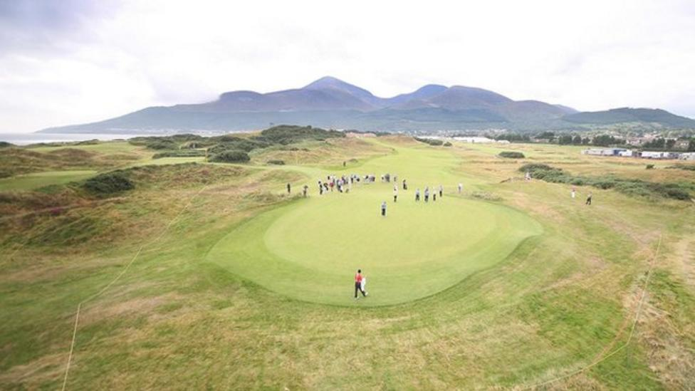 Royal county down set to host 2015 irish open bbc sport for Royal county down