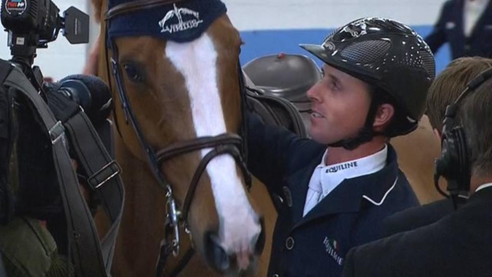 Ben Maher Wins Jump Off At Olympia Grand Prix Bbc Sport