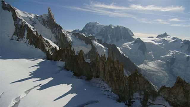 Aerials of the Alps