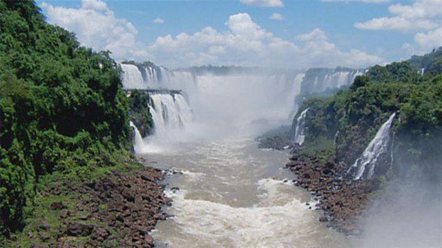 Iguazu Falls aerials