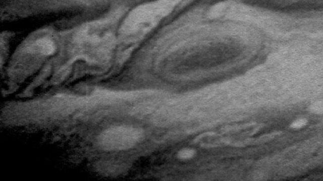 Voyager 1 encounters Jupiter