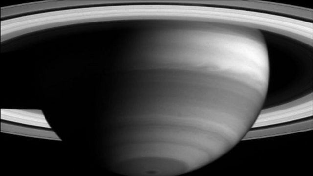 Saturn's magnetic field