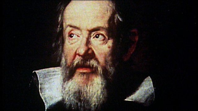 Galileo sees an imperfect Moon