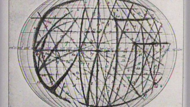 Percival Lowell maps Mercury