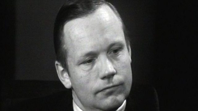 Neil Armstrong talks to Patrick Moore