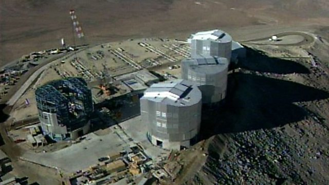 First pictures from the Very Large Telescope