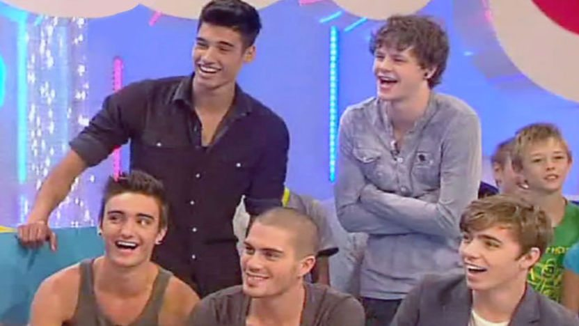 The Wanted on Basil & Barney&#39;s Swap Shop Sofa