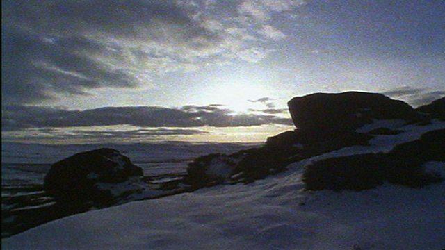 Glacial postcard