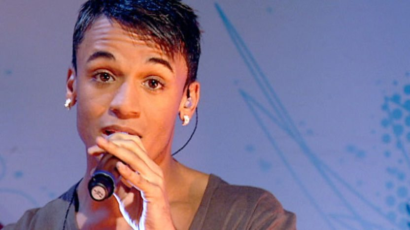 Aston Merrygold from JLS