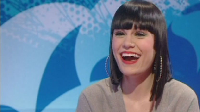 Jessie J laughing