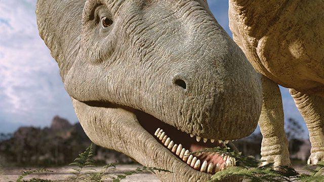 Argentinosaurus feeding
