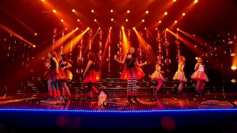 Debutante perform on Sport Relief Does Glee Club