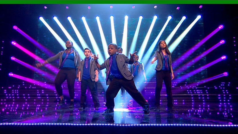 The Real Deal Perform on Sport Relief Does Glee Club