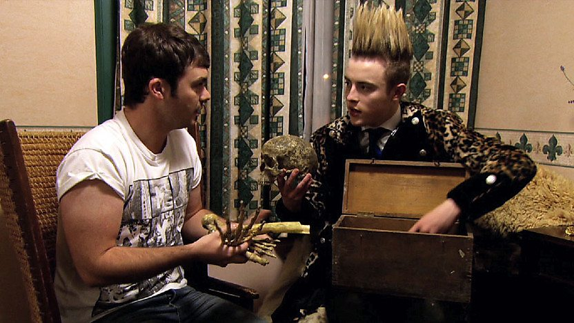 Barney Harwood with Edward