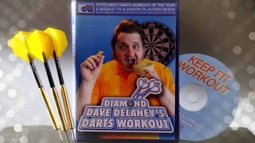 Diamond Dave Delaney&#39;s Darts Workout DVD
