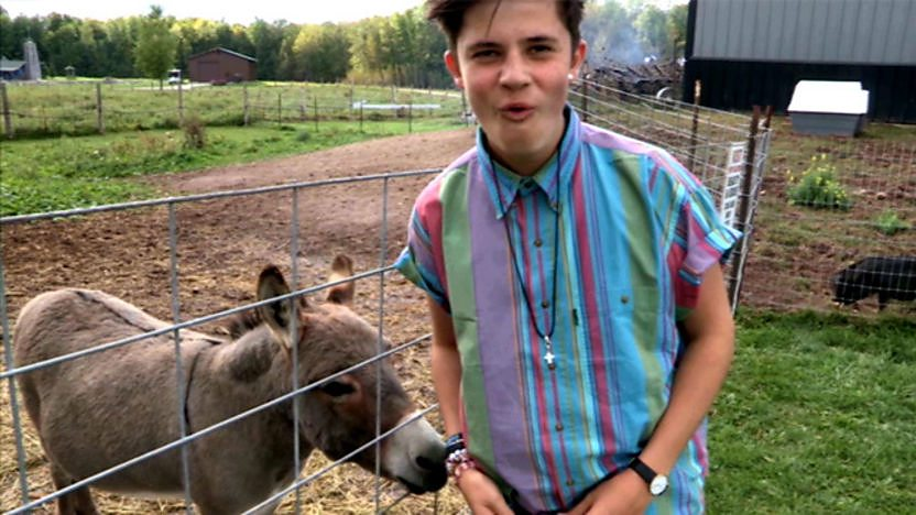 Cel Spellman behind the scenes on All Over the Place