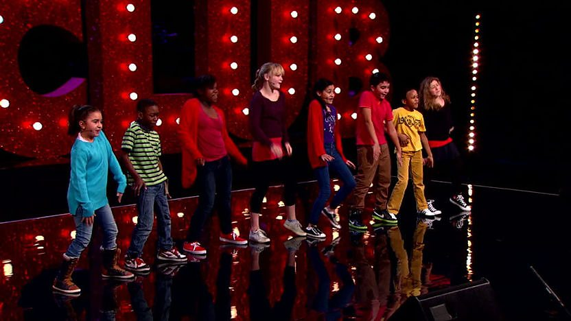 Fly Beat Perform on Comic Relief Does Glee Club