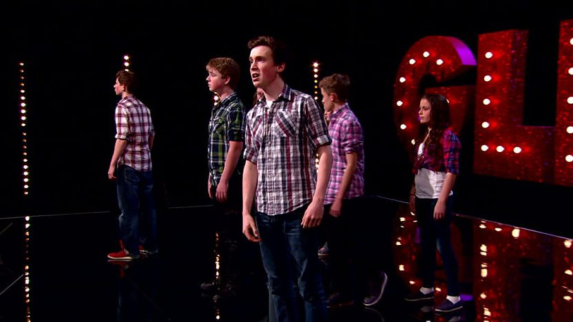 Impact Perform on Comic Relief Does Glee Club