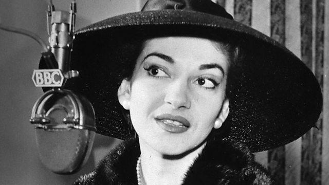Legendary diva Maria Callas talks to the BBC in 1958