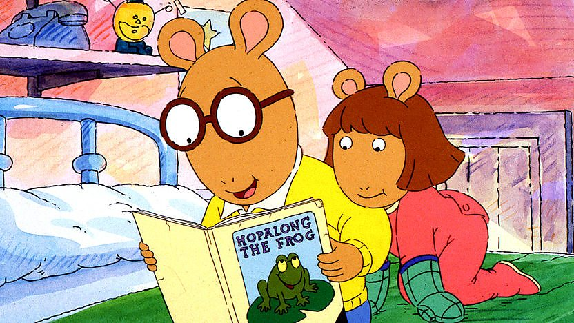 1. DW's Library Card/Arthur's Big Hit