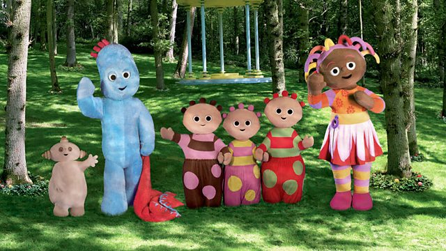 In the Night Garden: Series 1: Igglepiggle's Blanket Walks About by Itself