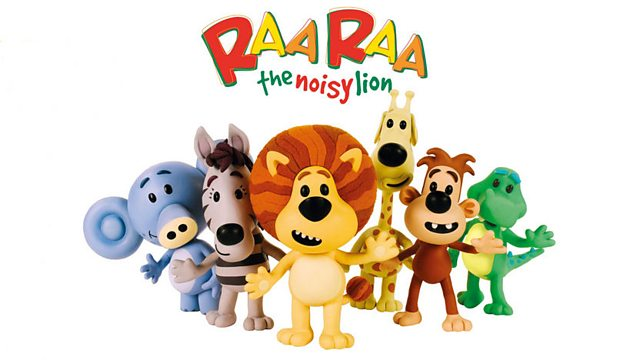 Raa Raa the Noisy Lion: Series 1: Go Bananas