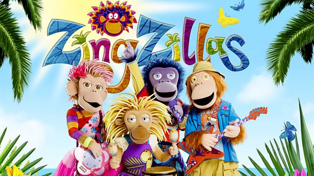 ZingZillas: Series 4: Echo on the Island