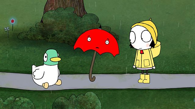 Sarah & Duck: Umbrella and the Rain