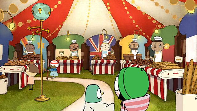 Sarah & Duck: World Bread Day