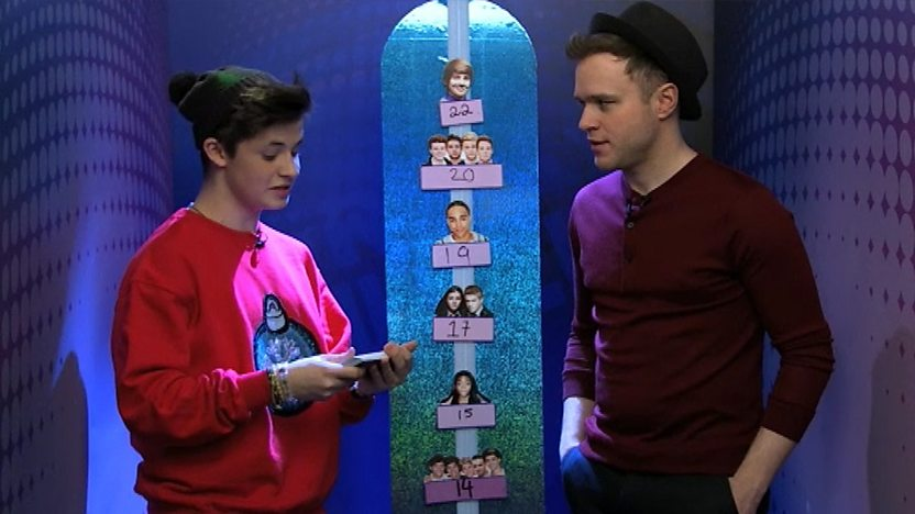 Cel and Olly Murs