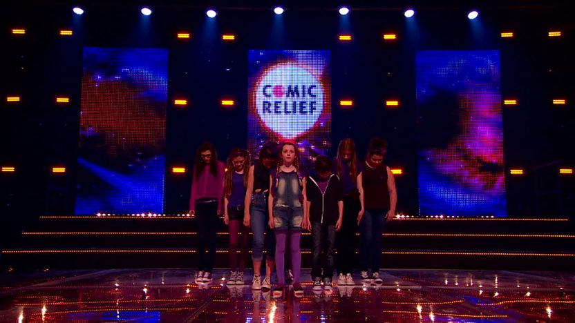 Musicality Perform on Comic Relief does Glee Club