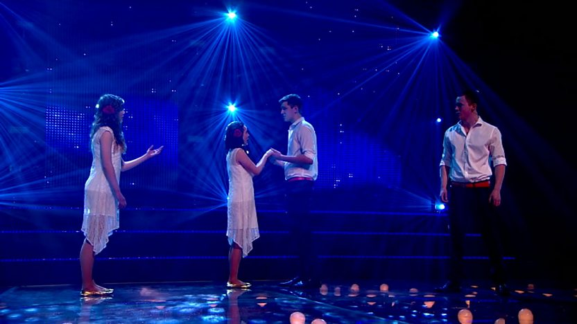Resonate perform on the final of Comic Relief Does Glee Club